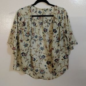 Willow and Clay Floral Kimono